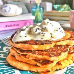 Pancakes de Calabaza Sin Gluten - Green Vivant