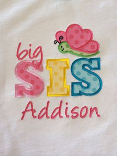 Big Sister little sister baby sister Lady Bug by KooCooSay on Etsy, $20.00