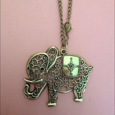 Elephant necklace 3 available New Jewelry Necklaces