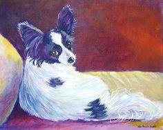 Papillon Dog, Glamorous | Lyn Cook