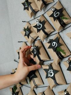 We love a good countdown to Christmas and we love a great advent calendar even more! Take a look at our top 5 upcycled advent calendar ideas! Advent Calander, Diy Advent Calendar, Calendar Ideas, Christmas On A Budget, All Things Christmas, Christmas Crafts, Christmas Calendar, Christmas Countdown, Calendrier Diy