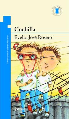 """""""Cuchilla"""", de Evelio José Rosero. Ilustraciones de Diana Castellanios. Editorial Norma."""