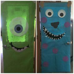 monsters inc classroom doors
