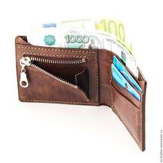 Купить Портмоне Лев - портмоне, портмоне из кожи, портмоне мужское, портмоне ручной работы