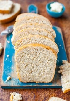 Soft and Chewy Coconut Milk Bread (vegan) averiecooks.com