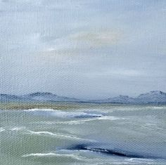 """Small 4"""" x 4"""" oil painting 4"""" x 4"""" by Judy Jacobs - Zenscape - 36"""