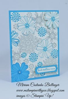Miriam Castanho Bollinger, #mstampinwithyou, stampin up, demonstrator, mother's day card, positive negative, flower shop. beautiful bunch, and many more stamp set, modern label punch, word window, tlc, su