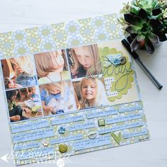 Amazing Look Back | Heidi Swapp National Scrapbook Day @heidiswapp @jamiepate #nsd #scrapbook #hsWanderlust #nationalscrapbookday