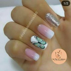 Manicure Natural, Manicure And Pedicure, Deep Brown, Little Things, Acrylic Nails, Natural Hair Styles, Finger, Nail Designs, Hair Beauty