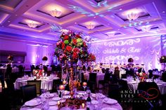 Venuti's Ristorante & Banquet Hall Addison Illinois wedding Old Hollywood glamour wedding photos Yanni Design Studio decoration and flowers (8)