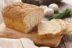 Hearty Potato Garlic Bread- This hearty bread is a soup lover s best friend, but it s also great with a salmon or seafood salad sandwich. Easy to make in a bread machine recipe, it can be prepared prepared for any occasion.