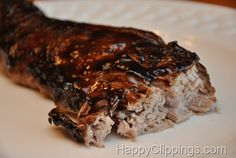 Sweet Balsamic Glazed Pork Tenderloin Recipe (Slow Cooker) - I slow cooked in the oven instead. Glazed with half the mix at the beginning and the rest the last 30-45 min...