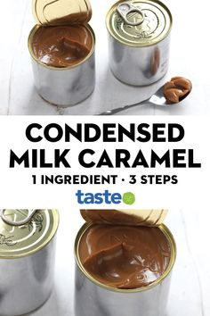 Caramel from sweetened condensed milk Mini Crockpot Recipes, Cooking Recipes, Cooking Hacks, Indian Dessert Recipes, Mexican Food Recipes, One Ingredient Recipe, Condensed Milk Desserts, Caramel Tart, Australian Food