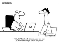 Today's Cartoon by Randy Glasbergen Today Cartoon, Friend Cartoon, Social Networks, Social Media, Training Materials, About Facebook, Nurse Quotes, Facebook Humor, So Little Time