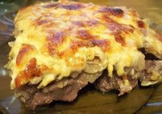Шустрый повар.: Говядина по-купечески с сыром и грибами