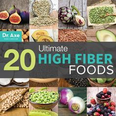 We know we need it, but even with all the fiber-added foods out there, most people are still deficient. Here's a go-to guide for the 20 Ultimate High Fiber Foods to add to your meal plan.