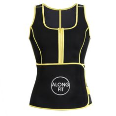 87d7e008f39 ALONG FIT Waist Trainer Neoprene Sauna Sweat Vest for Women Weight LossSee  The Size Chart    Want to know more
