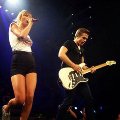 taylor swift and hunter hayes!