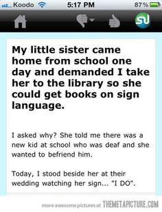 That's incredible.   My heart definitely just melted. (: so sweet