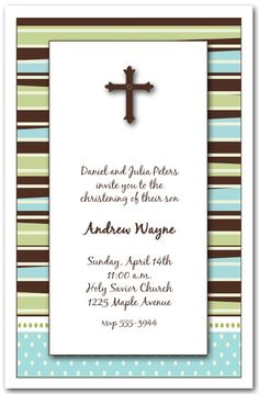 boy communion invitation | Boys First Communion Invitations, note cards ... | Carter's Communion ...