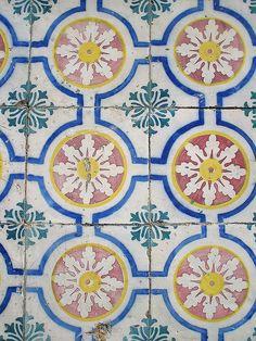 Lisboa.  Ceramic tile work.