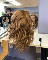 I did some flat iron waves today, here's how they turned out  #cosmetology #be...