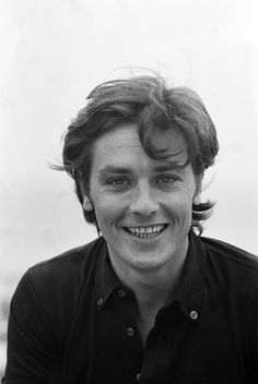 Happy Birthday to Alain Delon - 8 November 1935 - who has been making films since including masterworks with such directors as Luchino Visconti, Jean-Luc Godard, René Clément, Louis Malle,. Hollywood Stars, Classic Hollywood, Melodie En Sous Sol, Gorgeous Men, Beautiful People, Anouchka Delon, Isabelle Adjani, French Man, Jean Luc Godard