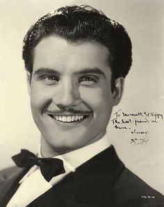 Handsome actor George Reeves is still known to millions as the original Superman. Visit the George Reeves page at Brian's Drive-In Theater for photos, biography and filmography information, DVD sources, and more for actor George Reeves. Moustache, Young Celebrities, Hollywood Celebrities, Celebs, Classic Hollywood, Old Hollywood, Hollywood Icons, Retro Vintage, Beards