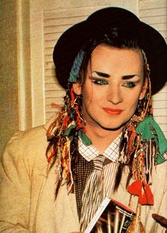1000+ images about Boy george icone on Pinterest | Boy ...