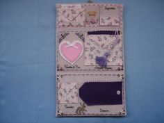 Queen of the Needle Sewing Case by Just Nan, open inner