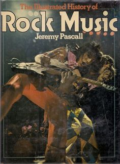 Illustrated History of Rock Music Captain Beefheart Cream Beatles Stones Chuck Berry Blondie Great for Collage Work