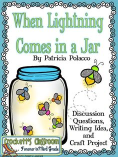 When Lightning Comes in a Jar, free activities