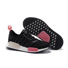 d37522c1c719 Originals Adidas NMD Runner Primeknit Black Pink Foil x