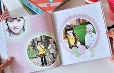 Fotolibro Famlia y Niños - Sky & Grass Rosa - Descarga gratis Photo Book, Polaroid Film, Blog, Pink, Ideas, Scrapbook, Free Downloads, Trapper Keeper, Note Cards