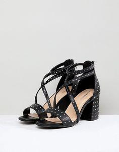 Sandales à talon noires style spartiate 3 suisses taille 36