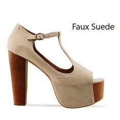 2012 New Women Shoes High Heels Platform T-strap Sandals Shoes #30