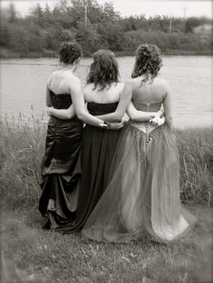 My daughter...pictured here with her friends on the day of their high school prom...