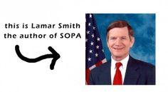 Congressman L. Smith,author SOPA