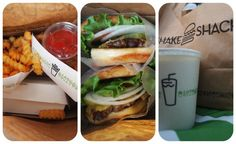 Shake Shack. Best burgers in NYC. Who Could Ever Despise Burgers And Fries?  #VSPINK #NYCLove