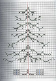 Christmas Tree • Free from Misty Dream – unadorned a lending itself perfectly for each stitcher to make it unique with embellishments.