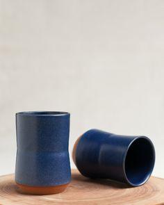 hand turned indigo cups #indigoeveryday