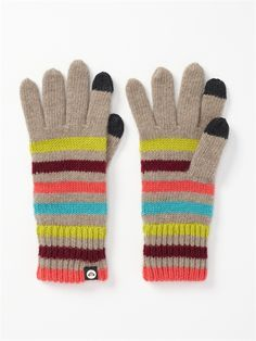 PEWLOL Texting  Gloves by Roxy - FRT1