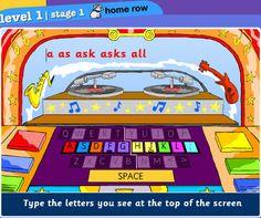 Keyboarding Sites for Kids: Dance Mat Typing, Keybr, Power Typing, E-Learning for Kids, TyperShark, Learning Games for Kids, Fun School, Sens-Lang, Typing Master, FreeTypingGame.net, Typing Chef, UpBeat.