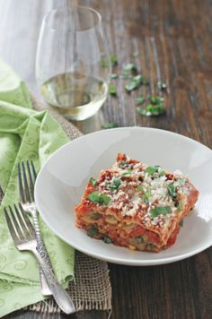 Use up the last of your summer produce in this lasagna. The best part? You can make it in your slow cooker! #CrockPot