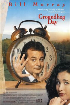 Groundhog Day Movie Poster (1993)