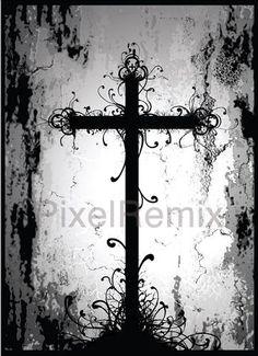 gothic cross | gothic_cross Art Goth, Gothic Crosses, Sign Of The Cross, Dark Gothic, Dream Decor, Christian Art, Gothic Beauty, Art Google, Dark Art