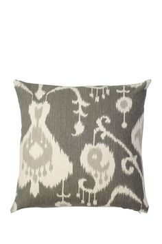 "Frog Hill Designs  Studio Twenty-two Pillow - 18"" x 18"" - Pewter"