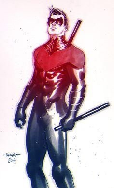 Nightwing by marciotakara.deviantart.com on @DeviantArt