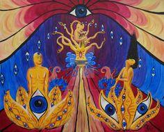 Psychedelic Art by BlueJetSurrealist