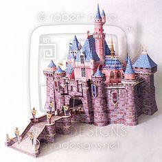Sleeping Beauty Castle: Disneyland V2.0 #02